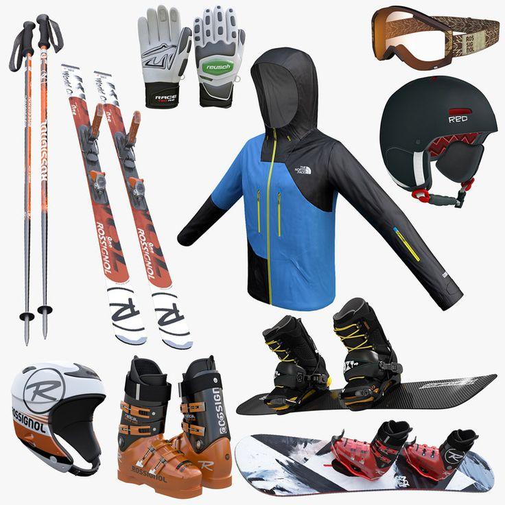 Kiralık kayak malzemeleri